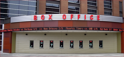 'Box Office' -- FedExForum Memphis (TN) March 2013